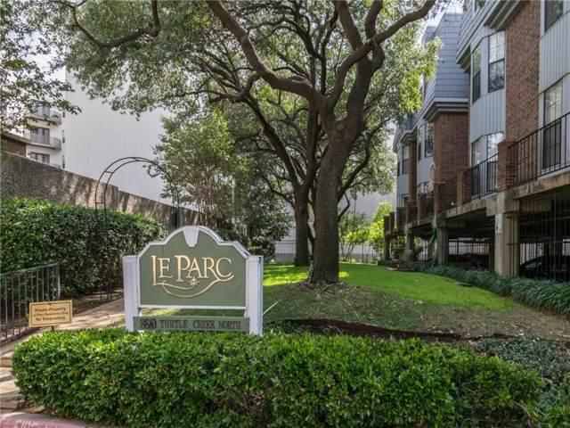 8610 Turtle Creek Boulevard #305, Dallas, TX 75225 (MLS #14190090) :: RE/MAX Town & Country