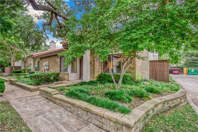 14151 Montfort Drive #347, Dallas, TX 75254 (MLS #14190133) :: The Hornburg Real Estate Group
