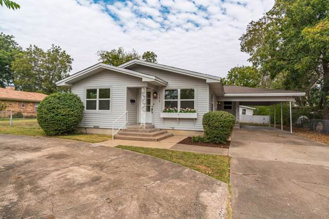 1412 Cornelia Street, Greenville, TX 75401 (MLS #14190162) :: Vibrant Real Estate