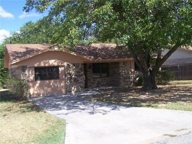 4405 Mimosa Drive, Brownwood, TX 76801 (MLS #14190335) :: Lynn Wilson with Keller Williams DFW/Southlake