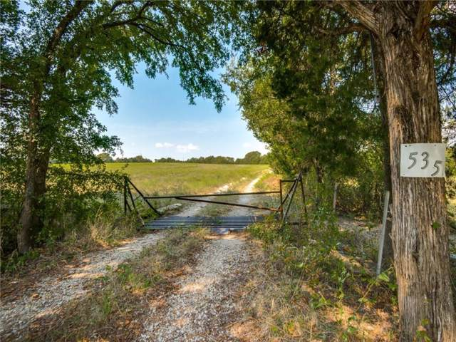 535 Muncy Road, Gunter, TX 75058 (MLS #14190749) :: Lynn Wilson with Keller Williams DFW/Southlake