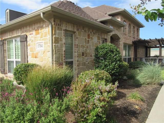 3075 Willow Grove Boulevard #1704, Mckinney, TX 75070 (MLS #14190830) :: The Good Home Team