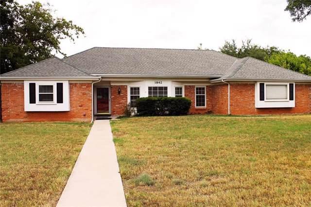1842 Elmwood Drive, Abilene, TX 79605 (MLS #14190958) :: All Cities Realty