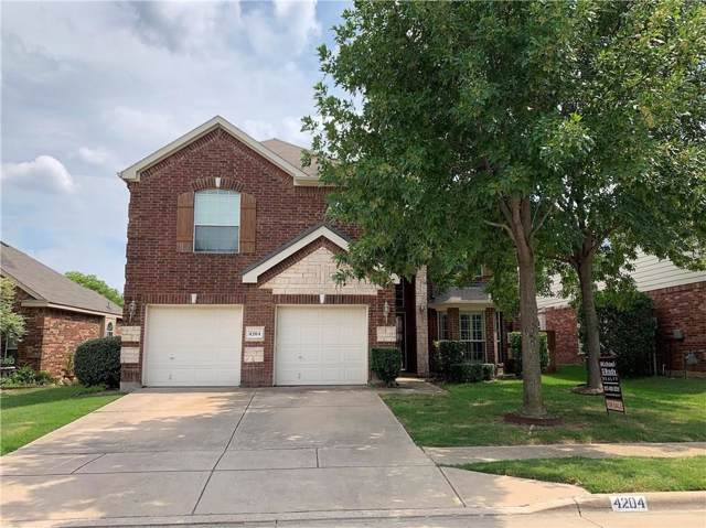 4204 Snapdragon Drive, Fort Worth, TX 76244 (MLS #14191051) :: Real Estate By Design