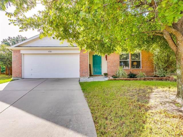 4708 Piedmonte Court, Denton, TX 76226 (MLS #14191251) :: Lynn Wilson with Keller Williams DFW/Southlake
