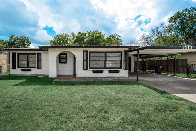 1312 Terminal Road, Fort Worth, TX 76106 (MLS #14191258) :: Lynn Wilson with Keller Williams DFW/Southlake