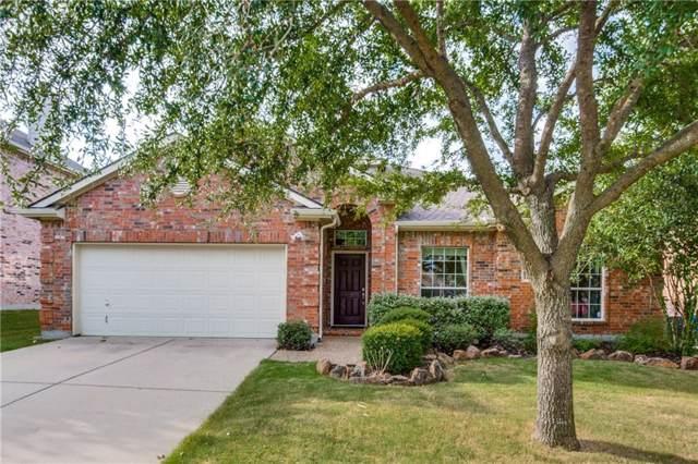 11819 Kingsville Drive, Frisco, TX 75035 (MLS #14191356) :: The Kimberly Davis Group