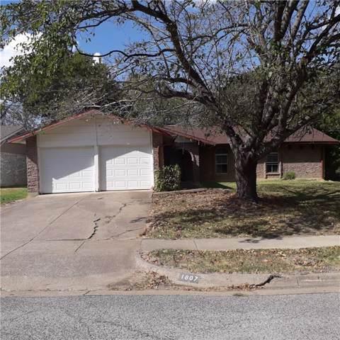 1807 Wickersham Drive, Arlington, TX 76014 (MLS #14191757) :: Lynn Wilson with Keller Williams DFW/Southlake