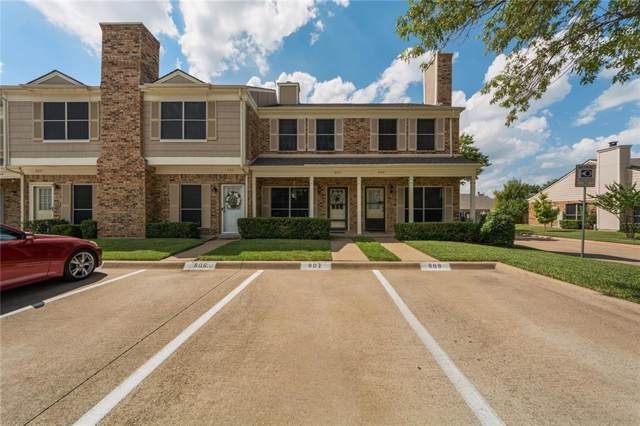 3801 14th Street #807, Plano, TX 75074 (MLS #14191833) :: Hargrove Realty Group