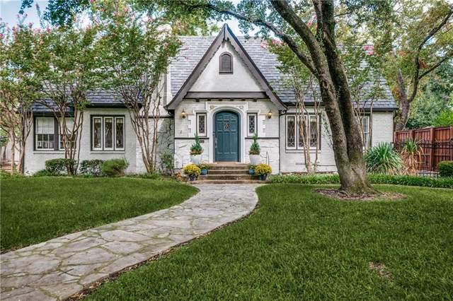 6523 Lakewood Boulevard, Dallas, TX 75214 (MLS #14191967) :: Vibrant Real Estate
