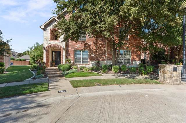 7903 New Castle Court, Mckinney, TX 75072 (MLS #14191975) :: RE/MAX Town & Country