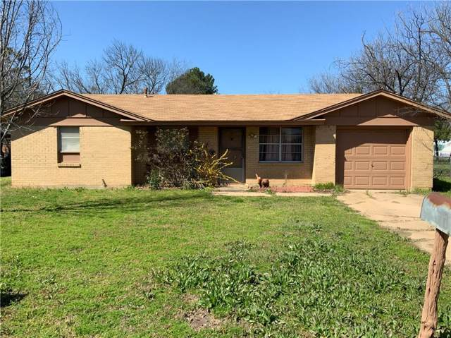 506 Dallas Street, Coleman, TX 76834 (MLS #14192127) :: Real Estate By Design