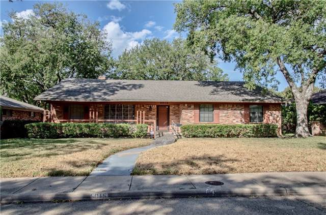 5015 Menefee Drive, Dallas, TX 75227 (MLS #14192385) :: The Good Home Team