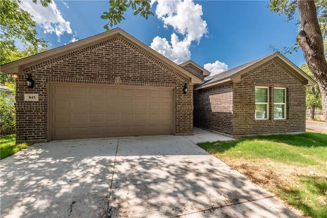 845 Hackamore Street, White Settlement, TX 76108 (MLS #14192594) :: RE/MAX Town & Country