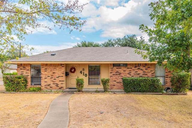 410 Dawson Drive, Duncanville, TX 75116 (MLS #14192634) :: Century 21 Judge Fite Company