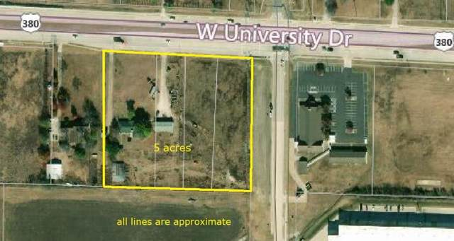 3819 W University Drive, Denton, TX 76208 (MLS #14192723) :: Lynn Wilson with Keller Williams DFW/Southlake