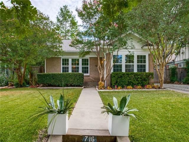716 N Glasgow Drive, Dallas, TX 75214 (MLS #14193251) :: Robbins Real Estate Group
