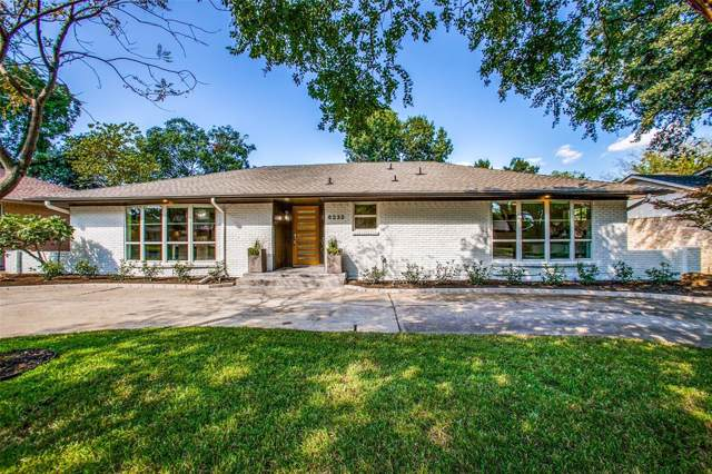 6233 Crestmont Drive, Dallas, TX 75214 (MLS #14193359) :: RE/MAX Town & Country