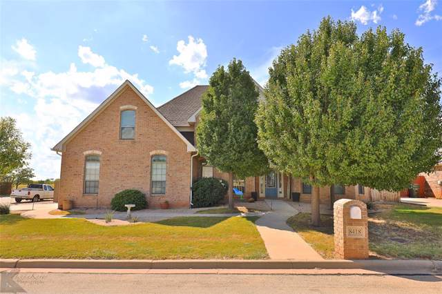 8418 Linda Vista, Abilene, TX 79606 (MLS #14193437) :: RE/MAX Town & Country