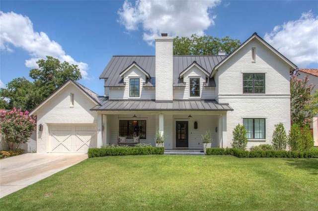 608 Edgefield Road, Fort Worth, TX 76107 (MLS #14193762) :: RE/MAX Town & Country