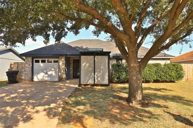 3865 Radcliff Road, Abilene, TX 79602 (MLS #14194115) :: Kimberly Davis & Associates