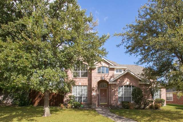 1610 Castle Pines Drive, Frisco, TX 75036 (MLS #14194132) :: RE/MAX Town & Country