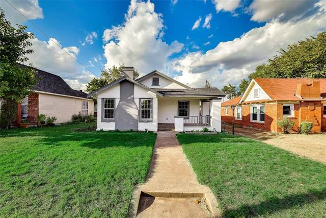 2815 Kingston Street, Dallas, TX 75211 (MLS #14194254) :: Lynn Wilson with Keller Williams DFW/Southlake