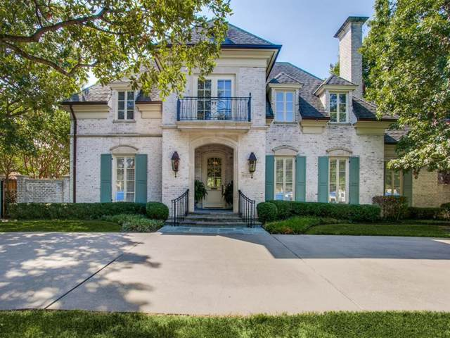 3921 Caruth Boulevard, University Park, TX 75225 (MLS #14194611) :: Lynn Wilson with Keller Williams DFW/Southlake