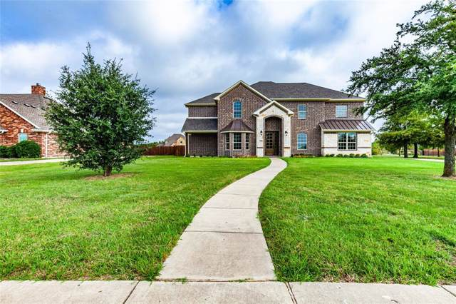 299 Shady Cove Drive, Sunnyvale, TX 75182 (MLS #14194925) :: Lynn Wilson with Keller Williams DFW/Southlake