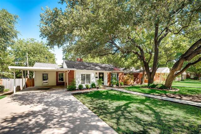 6428 Malvey Avenue, Fort Worth, TX 76116 (MLS #14195147) :: Kimberly Davis & Associates