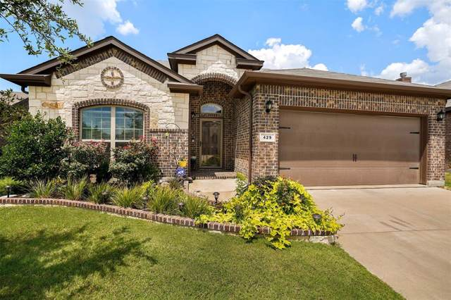 429 Delgany Trail, Fort Worth, TX 76052 (MLS #14195193) :: Lynn Wilson with Keller Williams DFW/Southlake
