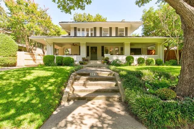 2417 5th Avenue, Fort Worth, TX 76110 (MLS #14195205) :: Lynn Wilson with Keller Williams DFW/Southlake