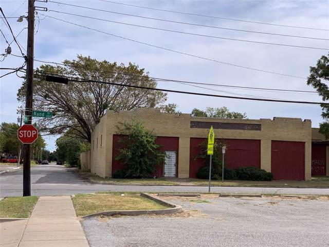 401 S Rand Street, Fort Worth, TX 76103 (MLS #14195438) :: All Cities USA Realty