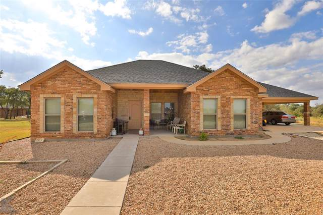 161 Country Oaks Road, Clyde, TX 79510 (MLS #14195444) :: The Heyl Group at Keller Williams