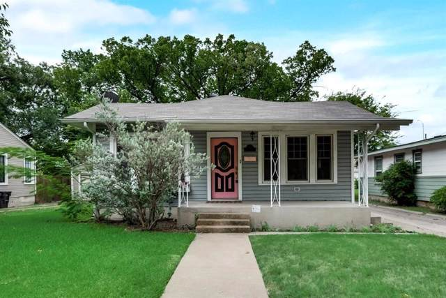 4825 Calmont Avenue, Fort Worth, TX 76107 (MLS #14195536) :: Robbins Real Estate Group