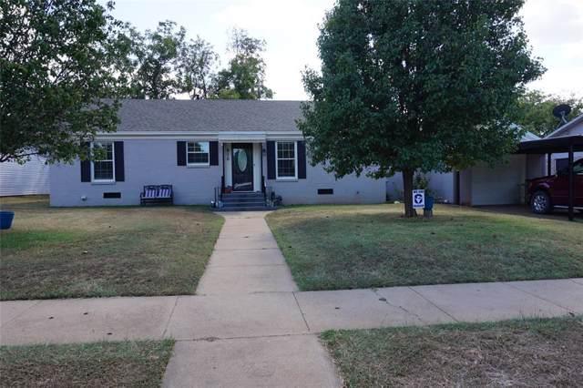 910 Brazos Street, Graham, TX 76450 (MLS #14195549) :: Kimberly Davis & Associates