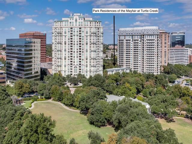 3401 Lee Parkway #106, Dallas, TX 75219 (MLS #14195563) :: Century 21 Judge Fite Company