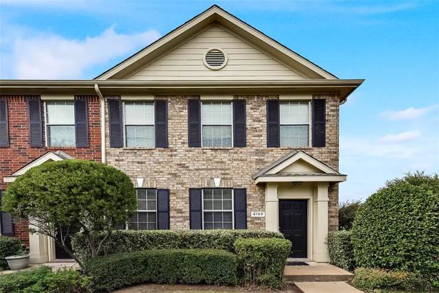 4158 Kyndra Circle, Richardson, TX 75082 (MLS #14195578) :: Tanika Donnell Realty Group