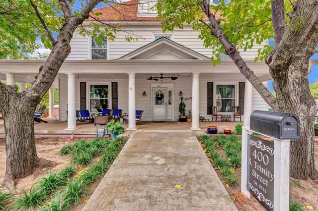 400 S Trinity Street, Decatur, TX 76234 (MLS #14195725) :: Ann Carr Real Estate