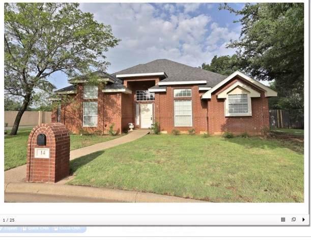 14 Cherry Hills W, Abilene, TX 79606 (MLS #14195771) :: RE/MAX Town & Country