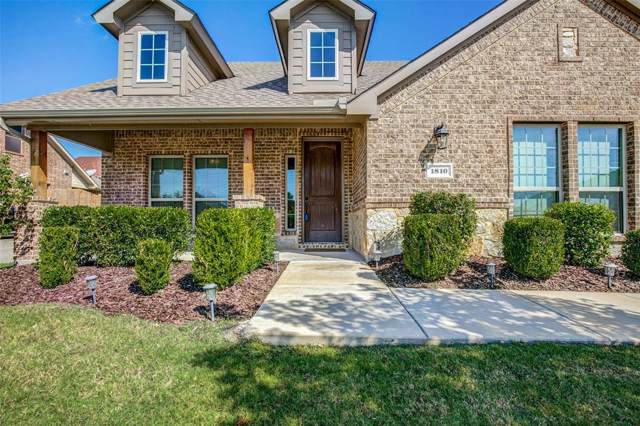 1810 Enchanted Cove, Wylie, TX 75098 (MLS #14195855) :: RE/MAX Town & Country