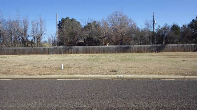 Lot 18 Kathryn, Mount Pleasant, TX 75455 (MLS #14195893) :: Lynn Wilson with Keller Williams DFW/Southlake