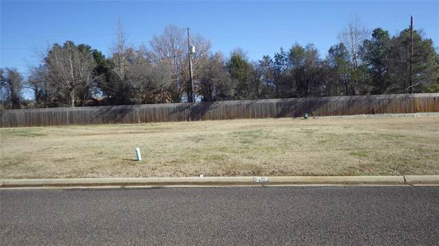 Lot 19 Kathryn, Mount Pleasant, TX 75455 (MLS #14195898) :: Lynn Wilson with Keller Williams DFW/Southlake