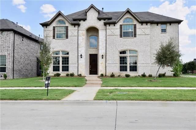 14118 Speargrass Drive, Frisco, TX 75033 (MLS #14195907) :: RE/MAX Landmark
