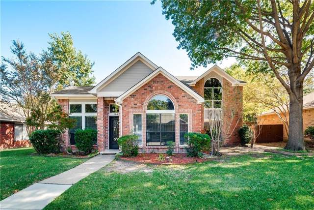 144 Mesquitewood Street, Coppell, TX 75019 (MLS #14195924) :: The Real Estate Station