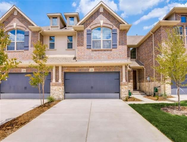 2744 Splendor Drive, Little Elm, TX 75068 (MLS #14195963) :: The Good Home Team