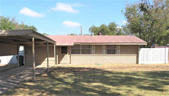 315 Roselawn, Coleman, TX 76834 (MLS #14196374) :: Real Estate By Design