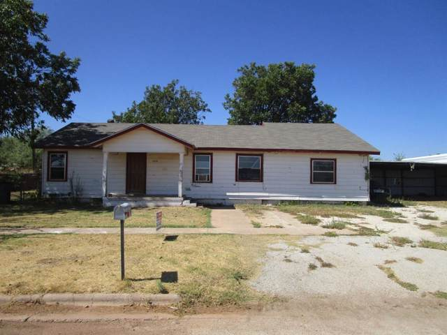 1014 Avenue H, Anson, TX 79501 (MLS #14196413) :: Real Estate By Design