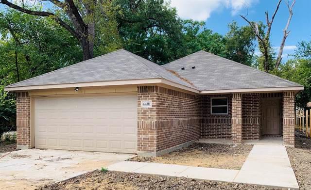 4401 N Ottawa Road, Dallas, TX 75212 (MLS #14196438) :: Lynn Wilson with Keller Williams DFW/Southlake