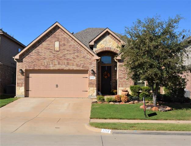 3312 Sombrero Drive, Denton, TX 76210 (MLS #14196450) :: Kimberly Davis & Associates
